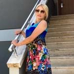 Donna Bionda Russa Elena 44