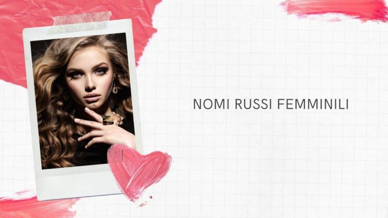Nomi russi femminili