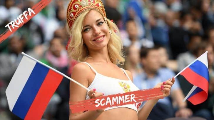 Scammer russe: consigli per evitare le truffe